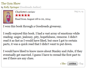 Charlotte via Goodreads
